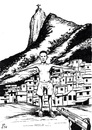 Cartoon: Christ in Rio (small) by paolo lombardi tagged brasil