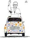 Cartoon: Hippie Pope 2 (small) by paolo lombardi tagged pope,vatican,peace,war