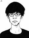 Cartoon: Joshua Wong (small) by paolo lombardi tagged hong,kong,china,freedom