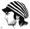 Cartoon: Kemo Caricature (small) by paolo lombardi tagged cartoonist,caricature,draw,me