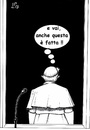 Cartoon: Ultima volta (small) by paolo lombardi tagged pope,vatican,ratzinger