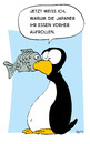 Cartoon: sushi (small) by Mergel tagged sushi,pinguin,fisch,essen,speisen,japan