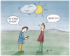 Cartoon: Schau zur Sonne! (small) by AndreJ tagged sonne,handy,wetter