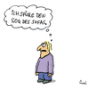 Cartoon: Unwiderstehlich (small) by fussel tagged sofa,ausruhen,sog,chillen