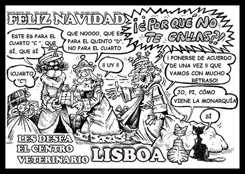 Cartoon: chritsma (medium) by PEPE GONZALEZ tagged christmas,navidad