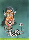 Cartoon: khedira (small) by Bert Kohl tagged kopfballstark,spielmacher
