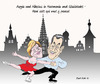 Cartoon: Pas de deux franco-allemand (small) by Bert Kohl tagged angie,und,nicolas
