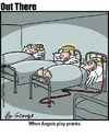 Cartoon: prank (small) by George tagged prank