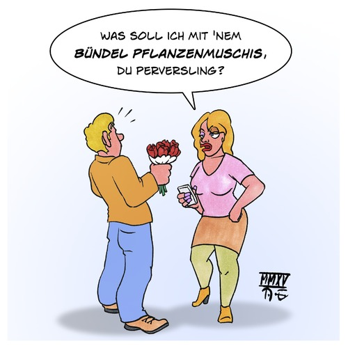Cartoon: Pflanzenmuschis (medium) by Timo Essner tagged valentinstag,blumen,bündel,pflanzenmuschis,verschenken,tradition,wirtschaft,blumenhandel,cartoon,timo,essner,valentinstag,blumen,bündel,pflanzenmuschis,verschenken,tradition,wirtschaft,blumenhandel,cartoon,timo,essner