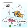 Cartoon: Blume und Biene (small) by Timo Essner tagged blume,biene,blümchensex