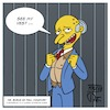 Cartoon: Mr. Burns as Paul Manafort (small) by Timo Essner tagged paul,manafort,montgomery,burns,simpsons,ostrich,see,my,vest,hommage,homage,reverenz,reverence,cartoon,timo,essner