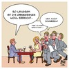 Cartoon: Obergrenze (small) by Timo Essner tagged obergrenzen einwanderung flüchtlinge restaurant kellner wortspiel cartoon timo essner