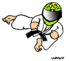 Cartoon: Valentino Rossi (small) by Carma tagged valentino,rossi,kick,marc,marquez