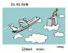 Cartoon: Wings (small) by Carma tagged germanwings,disaster,crash,plane
