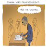 Cartoon: Obama wird Filmproduzent (small) by Uliwood tagged barack,obama,netflix,film,präsident,filmproduzent,usa,aktuell,movie,cannes