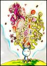 Cartoon: Imagine. (small) by Radio-active Girl tagged yeep,imagine,dream,colour,cartoon,doodle