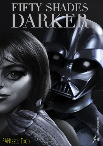 Cartoon: Fifty Shades Darker (medium) by Rüsselhase tagged fiftyshades,darthvader,starwars