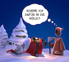 Cartoon: Hölle? (small) by Rüsselhase tagged weihnachten,tod,santaclaus,fun,funny