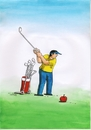 Cartoon: applegolf (small) by kotrha tagged humor