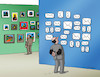Cartoon: galeria-far (small) by kotrha tagged art,da,vinci,van,gogh,auction,money,christies,museum