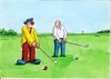 Cartoon: golfclown (small) by kotrha tagged humor
