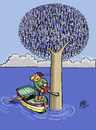 Cartoon: destruction (small) by kotbas tagged fish,fisherman,sea