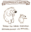 Cartoon: Aufwigel (small) by puvo tagged igel,stachelschwein,anstacheln,wortspiel,aggression,streit,puvo
