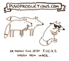 Cartoon: Fucks (small) by puvo tagged fuchs,fox,image,coolness