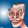 Cartoon: Christopher Pyne (small) by KEOGH tagged christopher,pyne,caricature,australia,keogh,cartoons,politics,australian,politicians