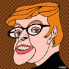 Cartoon: Marise Payne (small) by KEOGH tagged marise,payne,caricature,australia,keogh,cartoons,politics,australian,politicians
