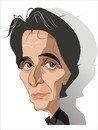 Cartoon: Al Pacino (small) by FARTOON NETWORK tagged al pacino movie star caricature films