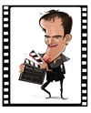 Cartoon: QUENTIN TARANTINO (small) by FARTOON NETWORK tagged quentin,tarantino,film,director,movie,star,django,unchained,pulp,fiction,caricature