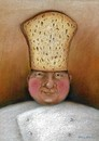 Cartoon: chef (small) by Riina Maido tagged chef,hat,bread