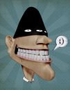 Cartoon: mood  psycho (small) by weba-08 tagged 3d,psycho,cartoon