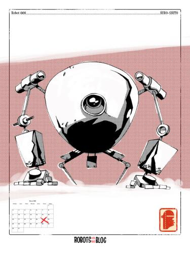 Cartoon: Robots en mi blog 08 (medium) by coleganelson tagged robot