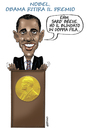 Cartoon: HOPE (small) by massimogariano tagged nobel