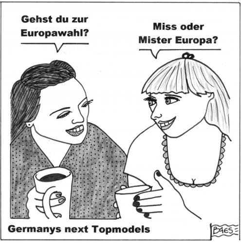 Cartoon: Europawahl (medium) by BAES tagged eu,euro,europa,wahl,europawahl,parlament,europaparlament,models,topmodels,brüssel,germanys next topmodel,tv,serie,euro,eu,europa,europawahl,wahl,wahlen,politik,beauty,frauen,model,topmodels,brüssel,europaparlament,parlament,germanys,next,topmodel
