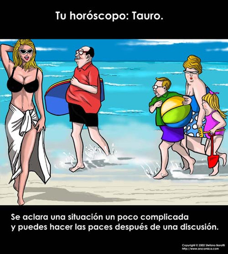 Cartoon: Tu horoscopo (medium) by perugino tagged horoskop,horoscopo,horoscope