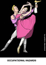 Cartoon: Balanchine revisited (small) by perugino tagged dance,ballet,theater