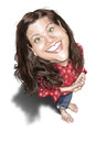 Cartoon: Mechelle (small) by doodleart tagged mechelle,caricature