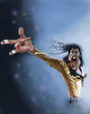 Cartoon: Michael Jackson (small) by doodleart tagged michael,jackson