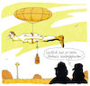 Cartoon: balance (small) by Andreas Prüstel tagged balance,gleichgewicht,cartoon,karikatur,andreas,pruestel