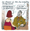 Cartoon: blinde date (small) by Andreas Prüstel tagged blindedate,singles