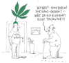 Cartoon: hanfparade (small) by Andreas Prüstel tagged cannabislegalisierung,demonstration,hanfparade,berlin