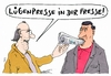 Cartoon: pressing (small) by Andreas Prüstel tagged lügenpresse,afd,pegida,besorgte,bürger,ängstliche,presse,zeitung,cartoon,karikatur,andreas,pruestel