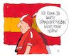 Cartoon: schnauze voll (small) by Andreas Prüstel tagged fußball,europa,spanischer,dominanz,cartoon,karikatur,andreas,pruestel