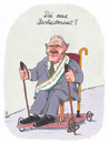 Cartoon: sparschäuble (small) by Andreas Prüstel tagged finanzminister,wolfgang,schäuble,hilfspaket,zypern,eu,sparkurs,bescheidenheit,cartoon,karikatur,andreas,prüstel,zypernhilfe,staatspleite