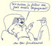 Cartoon: spruchbeutel (small) by Andreas Prüstel tagged vergangenheit,weisheiten,sprüche,spruchbeutel,opa,enkel,cartoon,karikatur,andreas,pruestel