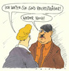 Cartoon: träger (small) by Andreas Prüstel tagged faschismus,neonazi,rechts,rechtsträger