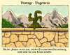 Cartoon: vintage-vegetaria (small) by Andreas Prüstel tagged vegetarier,vegan,vintage,hitler,obersalzberg,scheißhaufen,hakenkreuz,nazis,faschismus,führer,cartoon,karikatur,andreas,pruestel